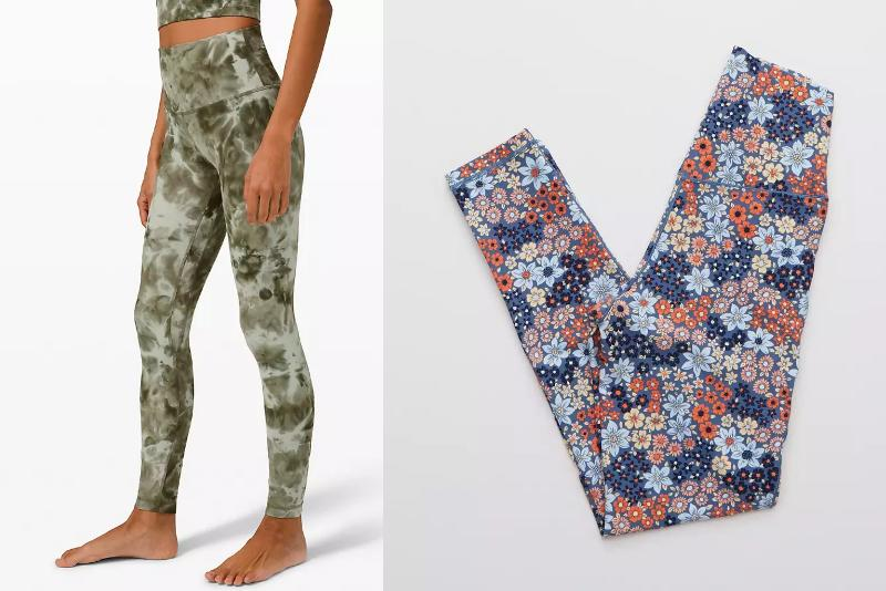 From tie dye to floral to bright hues, we've rounded up the best fun, colourful leggings to add to your wardrobe this year.