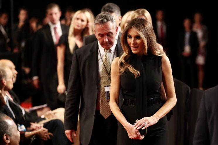 Melania Trumps Pussy Bow Symbolism Goes Even Deeper At The Third Debate