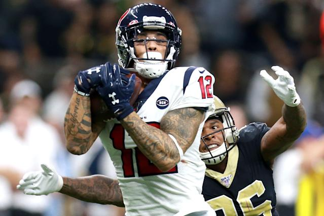 Kenny Stills Kneels During Playing Of National Anthem In First Game As A Texan