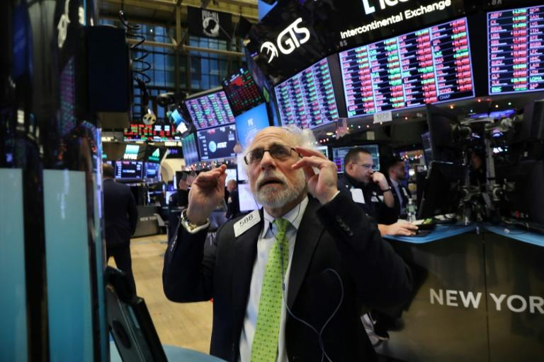 The Dow Jones industrial average fell nearly 800 points as investors fears increased over a potential trade war between China and America