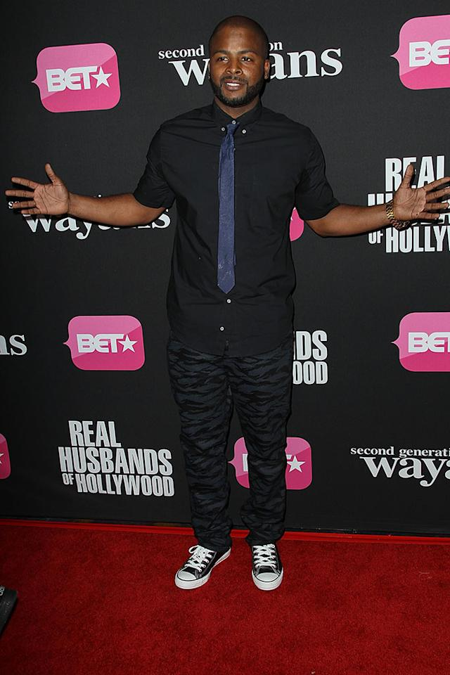 "Craig Wayans arrives at the screenings of BET Networks' ""Real Husbands of Hollywood"" and ""Second Generation Wayans"" held at the Regal Cinemas L.A. Live on January 8, 2013 in Los Angeles, California."