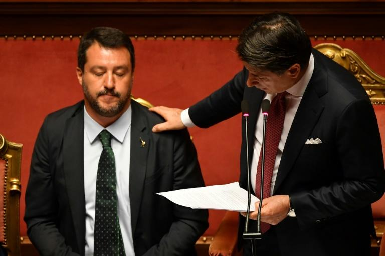 Giuseppe Conte resigned as Italian premier after lashing out at his deputy PM Matteo Salvini