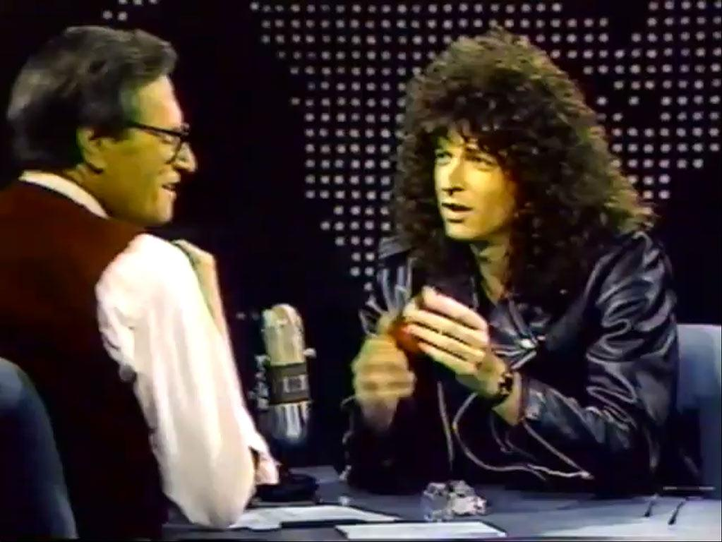"Howard Stern (and his hair) appeared on ""<a href=""/larry-king-live/show/31621"">Larry King Live</a>"" in 1988 to discuss his subtly titled pay-per-view special ""Howard Stern's Negligee and Underpants Party."" Stern told King that he wasn't on television because ""television isn't ready for me."" Now that he's taking over for Piers Morgan on ""<a href=""/america-39-s-got-talent/show/39714"">America's Got Talent</a>,"" we hope the audience is ready. (Irony: Morgan took over for Larry King on CNN. It's the circle of life.) <a href=""http://bit.ly/yVrlv3"" rel=""nofollow"">View the entire gallery at Snakkle.</a>"