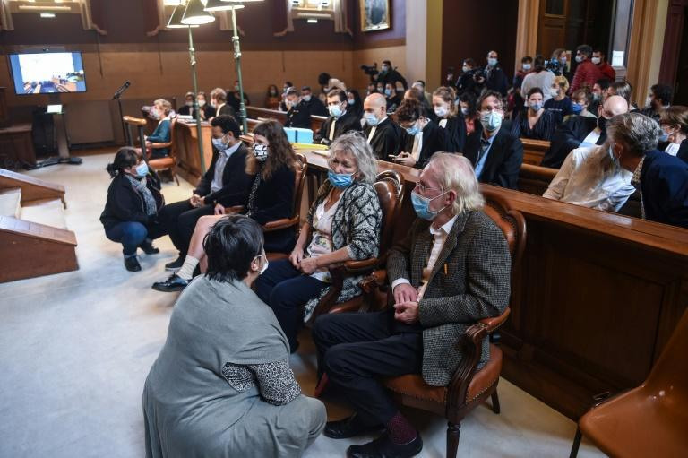Xynthia Hawke's family were in court during the trial