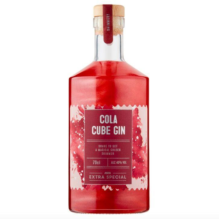 "<p>The second gin to hit Asda shelves is the Extra Special Cola Cube Gin, which they say is oozing with that unmistakeable cola flavour we all know and love - and is finished with a magical golden shimmer for ""extra fun"".  </p><p><a class=""body-btn-link"" href=""https://groceries.asda.com/product/gin/asda-extra-special-cola-cube-gin/1000221787577"" target=""_blank"">SHOP NOW</a></p>"