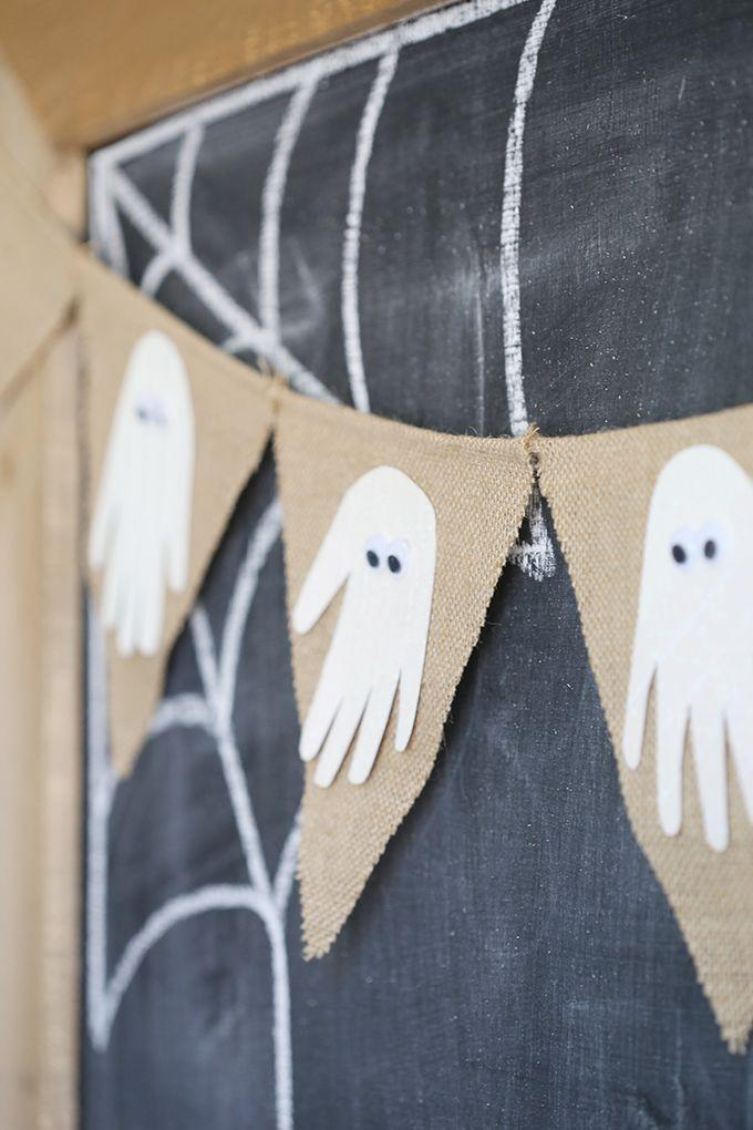 "<p>Transform your kids' handprints into boo-tiful paper ghosts, which can instantly give a burlap banner or plain pumpkin a festive feel. </p><p><strong>Get the tutorial at <a href=""http://seevanessacraft.com/2016/10/halloween-handprint-ghost-banner/"" rel=""nofollow noopener"" target=""_blank"" data-ylk=""slk:See Vanessa Craft"" class=""link rapid-noclick-resp"">See Vanessa Craft</a>. </strong></p><p><strong><a class=""link rapid-noclick-resp"" href=""https://www.amazon.com/ThxToms-Burlap-Birthday-Graduation-Wedding/dp/B01G5621UO/?tag=syn-yahoo-20&ascsubtag=%5Bartid%7C2139.g.34440360%5Bsrc%7Cyahoo-us"" rel=""nofollow noopener"" target=""_blank"" data-ylk=""slk:SHOP BURLAP BANNER"">SHOP BURLAP BANNER</a><br></strong></p>"