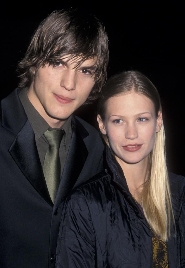 "Long before Ashton Kutcher married and divorced Demi Moore and January Jones gave birth to her baby boy (whose father she refuses to reveal), <a href=""http://www.huffingtonpost.com/2010/10/27/ashton-kutcher-january-jo_n_774749.html"" rel=""nofollow noopener"" target=""_blank"" data-ylk=""slk:these two gave it a go in the romance department"" class=""link rapid-noclick-resp"">these two gave it a go in the romance department</a>."