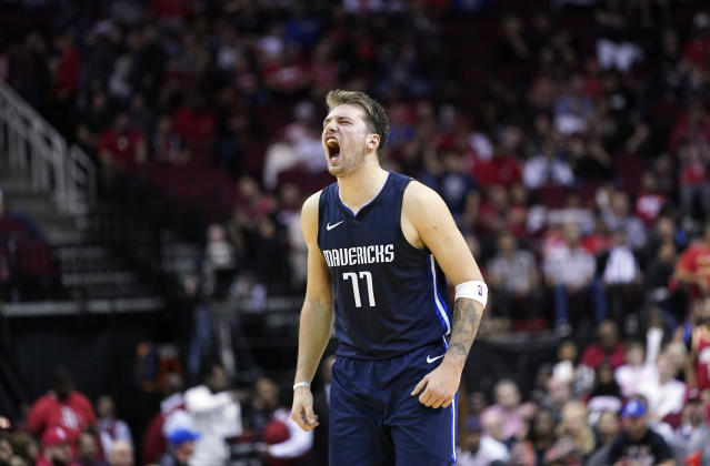 Luka Doncic is going to be doing this for years to come. (AP Photo/David J. Phillip)