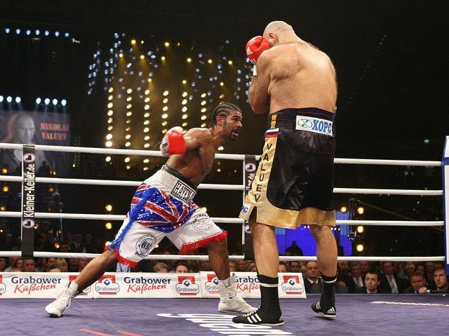David Haye gave up 11 inches to his Russian opponent