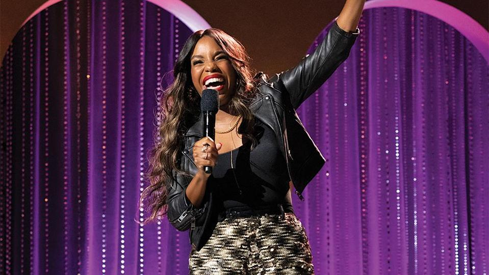 """Comedian London Hughes has been critical of the initiative, which she labelled as """"insulting"""" on social media. - Credit: Greg Gayne / Netflix"""