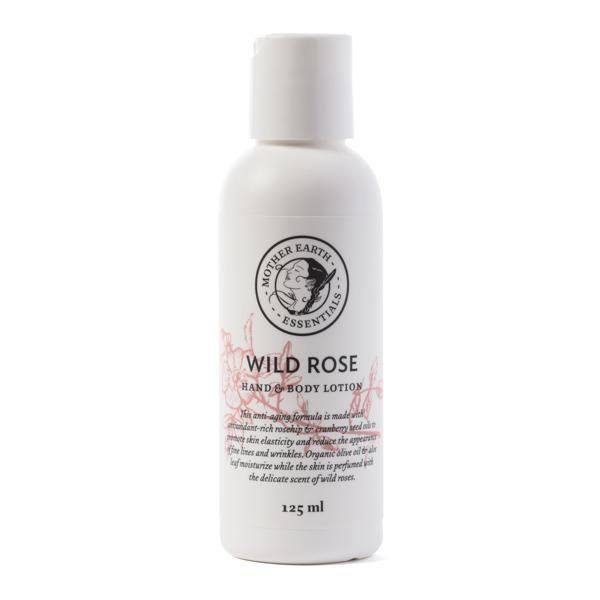 """<p><strong>Mother Earth Essentials</strong></p><p>motherearthessentials.ca</p><p><strong>$10.00</strong></p><p><a href=""""https://motherearthessentials.ca/collections/lotions-body-wash/products/4oz-lotion-wildrose"""" rel=""""nofollow noopener"""" target=""""_blank"""" data-ylk=""""slk:Shop Now"""" class=""""link rapid-noclick-resp"""">Shop Now</a></p><p>Mother Earth Essentials is packed with botanical ingredients based on the Cree Medicine Woman ancestry of founder Carrie Armstrong. This nourishing wild rose hand and body lotion has a base of olive oil and aloe leaf, along with rosehip and cranberry seed oils. </p>"""