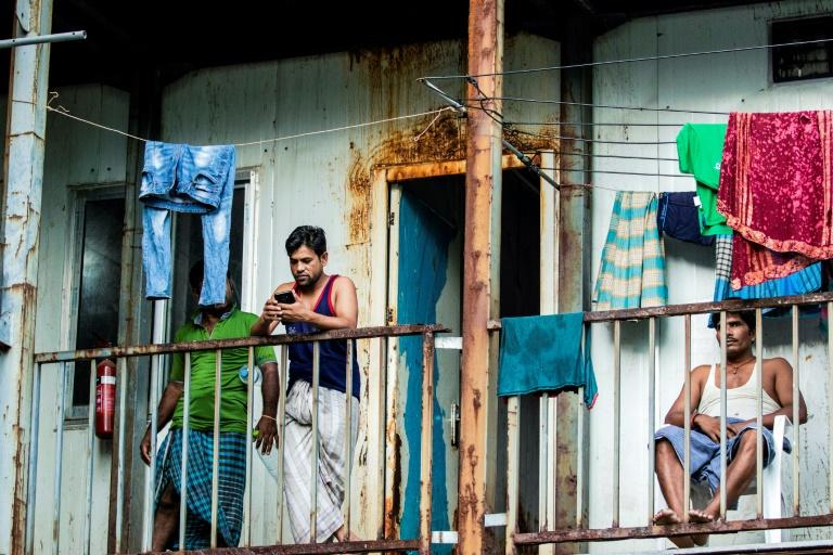 Living conditions for many migrant workers in the Maldives are tough