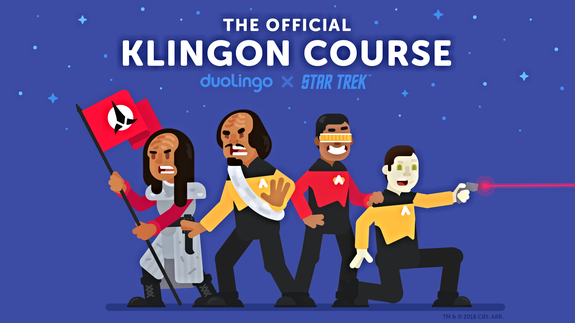 Duolingo Launches Free Online Klingon Language Course