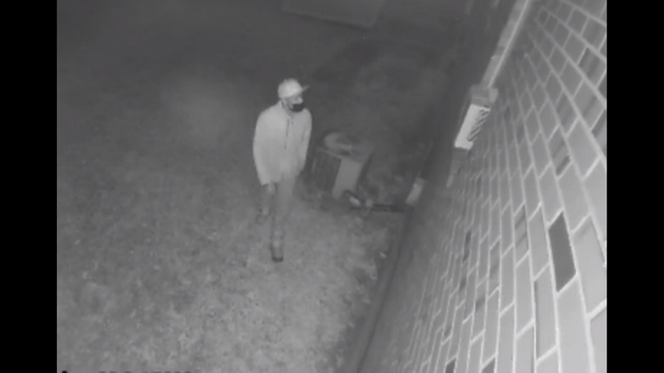 North Carolina police shared photos of a person they say was caught on camera near a reported burglary.