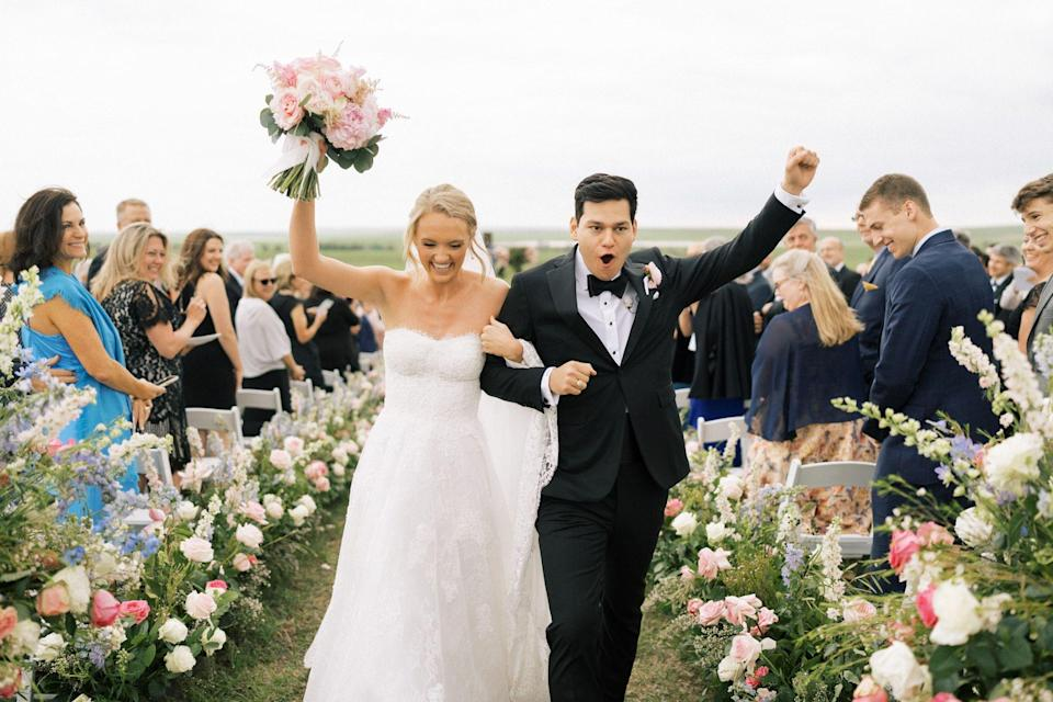 """<p>There are few things more romantic or special than a beautiful wedding ceremony. Just ask Ree Drummond, who recently celebrated <a href=""""https://www.thepioneerwoman.com/ree-drummond-life/a36164837/alex-drummond-mauricio-scott-married-wedding-photos-cover/"""" rel=""""nofollow noopener"""" target=""""_blank"""" data-ylk=""""slk:the nuptials of her oldest daughter, Alex"""" class=""""link rapid-noclick-resp"""">the nuptials of her oldest daughter, Alex</a>. """"It was such a meaningful, memorable night—beautiful flowers, great food, and so much fun...but what we all felt most of all was the love,"""" Ree says. """"It was even more special than any of us could have hoped for.""""<br></p><p>Here, you'll find wedding quotes that could turn anyone into a hopeless romantic—and reduce the already hopeless to happy tears. If you want to make the bride and groom laugh, read them this hilarious quote from Rita Rudner: """"I love being married. It's so great to find one special person you want to annoy for the rest of your life."""" On the other hand, if you're on the hunt for a more sentimental <a href=""""https://www.thepioneerwoman.com/just-for-fun/g37094122/quotes-about-love/"""" rel=""""nofollow noopener"""" target=""""_blank"""" data-ylk=""""slk:quote about love"""" class=""""link rapid-noclick-resp"""">quote about love</a> to conclude a toast, look no further than these wise words from André Maurois: """"A happy marriage is a long conversation which always seems too short."""" Many of Robin Williams' brilliant lines from <em><em>Good Will Hunting </em></em>work beautifully, too: """"It doesn't matter if the guy is perfect or the girl is perfect, as long as they are perfect for each other.""""</p><p>Cue the tears in three, two, one...</p>"""