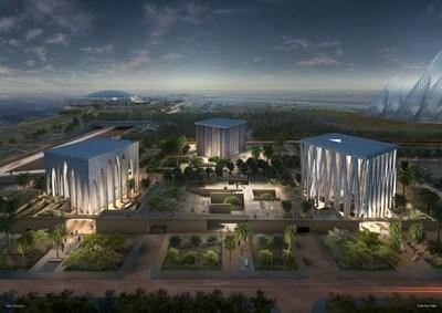 The Abrahamic Family House, to be built in Abu Dhabi, UAE