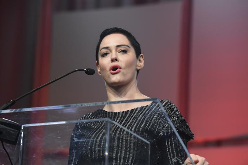 Rose McGowan, one of Harvey Weinstein's accusers in a massive Hollywood sexual misconduct scandal, is in legal hot water.
