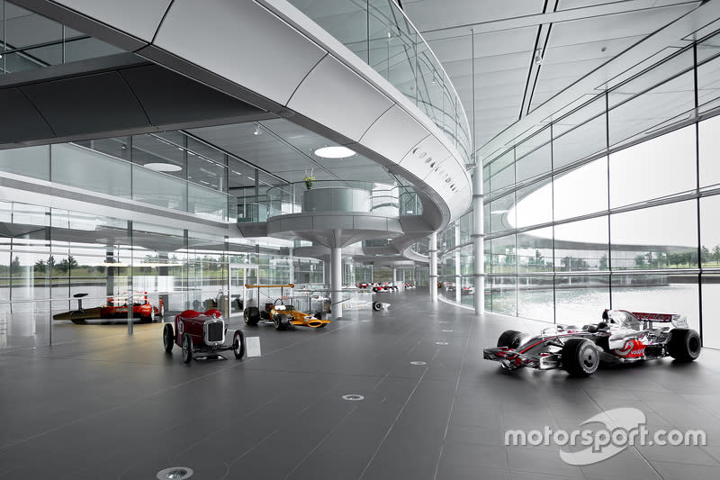 Classic McLarens at the Technology Center