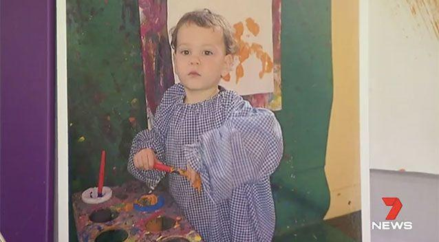 Lachlan had come down with a fever and a rash, before his parents visited five doctors in as many days. Source: 7 News