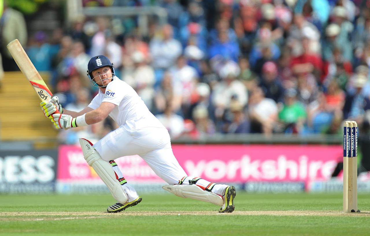 England's Ian Bell during the Second Investec Test match at Headingley, Leeds.