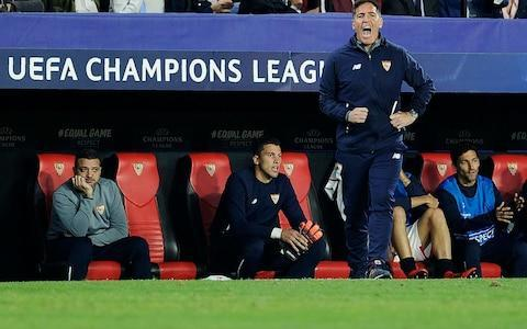 """Sevilla have confirmed manager Eduardo Berizzo has been diagnosed with prostate cancer. Spanish media reported on Wednesday the coach had informed his players of the condition at half-time during the 3-3 Champions League draw with Liverpool. At the time, Sevilla were trailing 3-0. However, Sevilla have since confirmed that Berizzo's players were told the news a few days ago. Nevertheless, Berizzo's half-time address to his side must have been one of the most emotional of any coach, and will go some way to explaining the vast difference in application from the side in both halves of an extraordinary game. A club statement confirmed reports of Berizzo's illness. """"The medical services of Sevilla FC report that the coach of the first team, Eduardo Berizzo, has been diagnosed with an adenocarcinoma of the prostate,"""" read a Sevilla statement. Eduardo Berizzo told players at half-time of his cancer diagnosis Credit: AFP """"The future examinations will allow to decide which are the steps to follow regarding their treatment. """"Sevilla FC wants to show their maximum support to their coach at this time and wishes him a speedy recovery."""" Argentine Berizzo is one of the Europe's most respected coaches having previously managed Celta Vigo, where he was also a player. He led Celta to the Europa League semi-final prior to moving to Sevilla. Berizzo's revelation adds a solemn perspective to the second half in Spain on Tuesday night, after which Liverpool have been roundly criticised for failing to prevent the stirring comeback. Sevilla midfielder Ever Banega said the players were determined to react to the half-time deficit for their coach, as well as their boisterous support who created a cauldron as their side fought back. Liverpool were pegged back from 3-0 down """"It was a crazy game. We went into the changing rooms knowing that if we tried then we could pull it off. That's how we have to play every game,"""" said Banega. """"We have to go out there with that attitude, for the fans that al"""