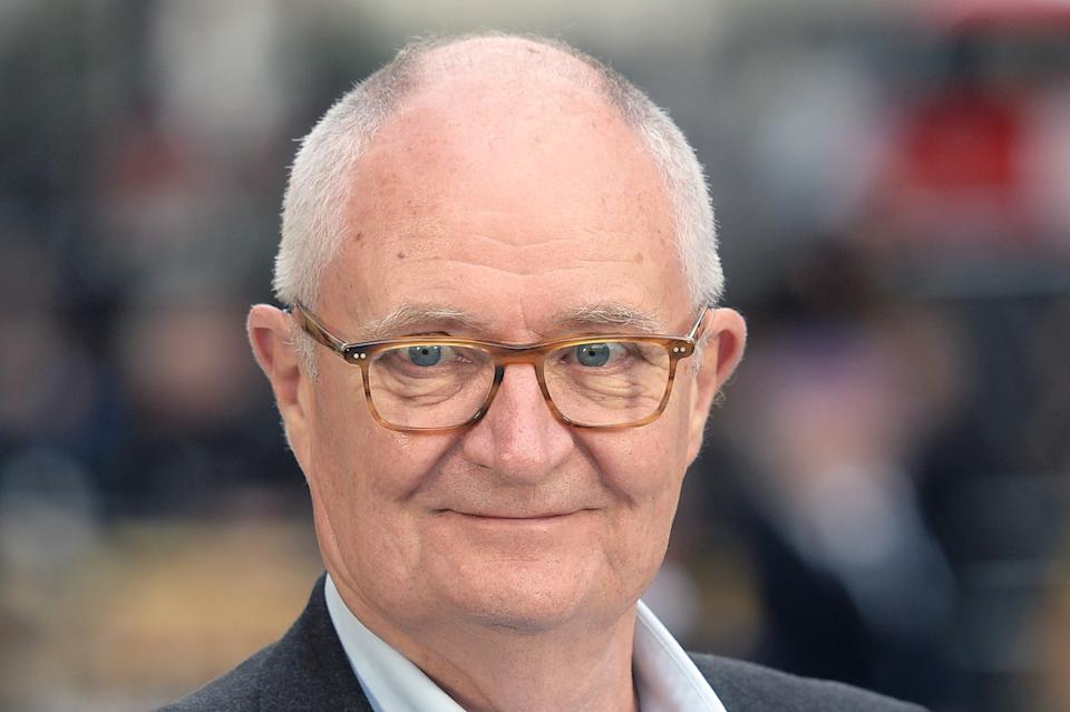 Jim Broadbent attends the World Premiere of 'King Of Thieves' at Vue West End on September 12, 2018 in London, England.  (Photo by Dave J Hogan/Dave J Hogan/Getty Images)