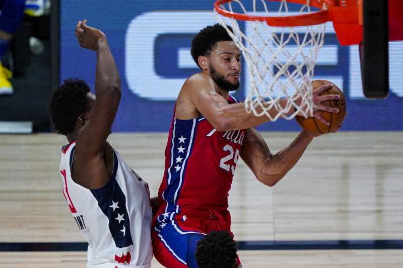 76ers Wizards Basketball