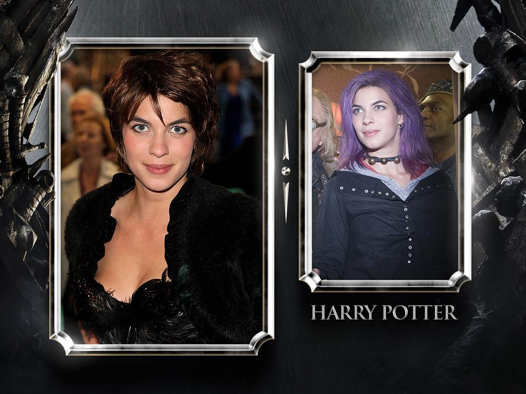 "<a href=""http://movies.yahoo.com/movie/contributor/1809675017"" rel=""nofollow"">Natalia Tena</a> — Current Role: Osha, a captured Wildling woman at Winterfell. // Prior Geek Roles: In four different ""<a href=""http://movies.yahoo.com/movie/1808475612/info"" rel=""nofollow"">Harry Potter</a>"" films, she played Order of the Phoenix member Nymphadora Tonks, she of the changing hair color and lover of Remus Lupin. <a href=""http://www.televisionwithoutpity.com/show/game_of_thrones/game_of_thrones_the_casts_geek.php?__source=tw