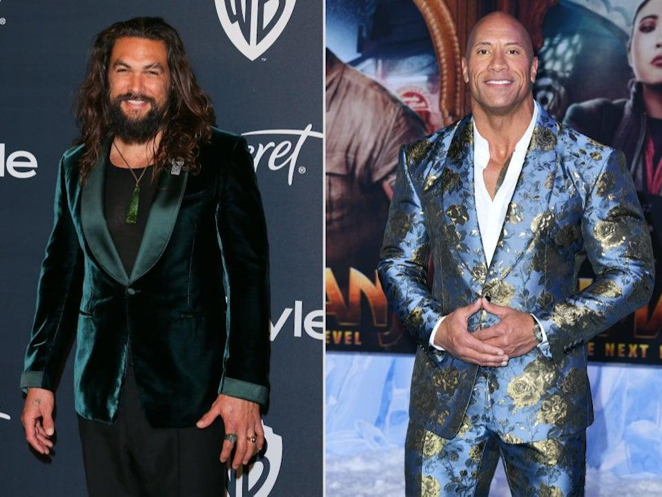 <p>Jason Momoa surprises The Rock's Aquaman-obsessed daughter on her birthday</p> (Getty Images)