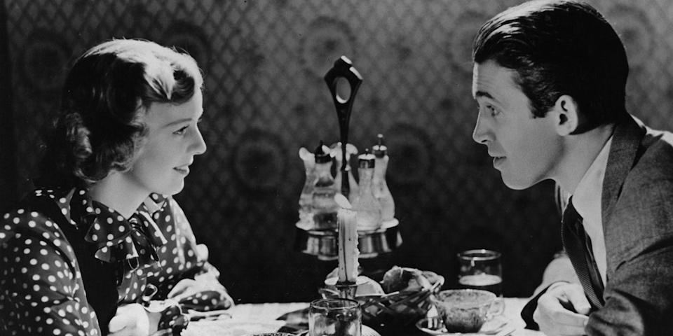 """<p>A pair of gift shop salespeople who despise each other anonymously fall in love via their pen-pal correspondence. Sound familiar? It should. James Stewart and Margaret Sullavan's onscreen tale is the inspiration for Nora Ephron's classic <em><a href=""""https://www.amazon.com/Youve-Got-Mail-Tom-Hanks/dp/B001N3LLH4/?tag=syn-yahoo-20&ascsubtag=%5Bartid%7C10056.g.13149732%5Bsrc%7Cyahoo-us"""" rel=""""nofollow noopener"""" target=""""_blank"""" data-ylk=""""slk:You've Got Mail"""" class=""""link rapid-noclick-resp"""">You've Got Mail</a></em>.</p><p><em>Stream on amazon.com, $3 to rent, $10 to buy.</em> <a class=""""link rapid-noclick-resp"""" href=""""https://www.amazon.com/dp/B004GAKENI?tag=syn-yahoo-20&ascsubtag=%5Bartid%7C10056.g.13149732%5Bsrc%7Cyahoo-us"""" rel=""""nofollow noopener"""" target=""""_blank"""" data-ylk=""""slk:WATCH"""">WATCH</a></p>"""
