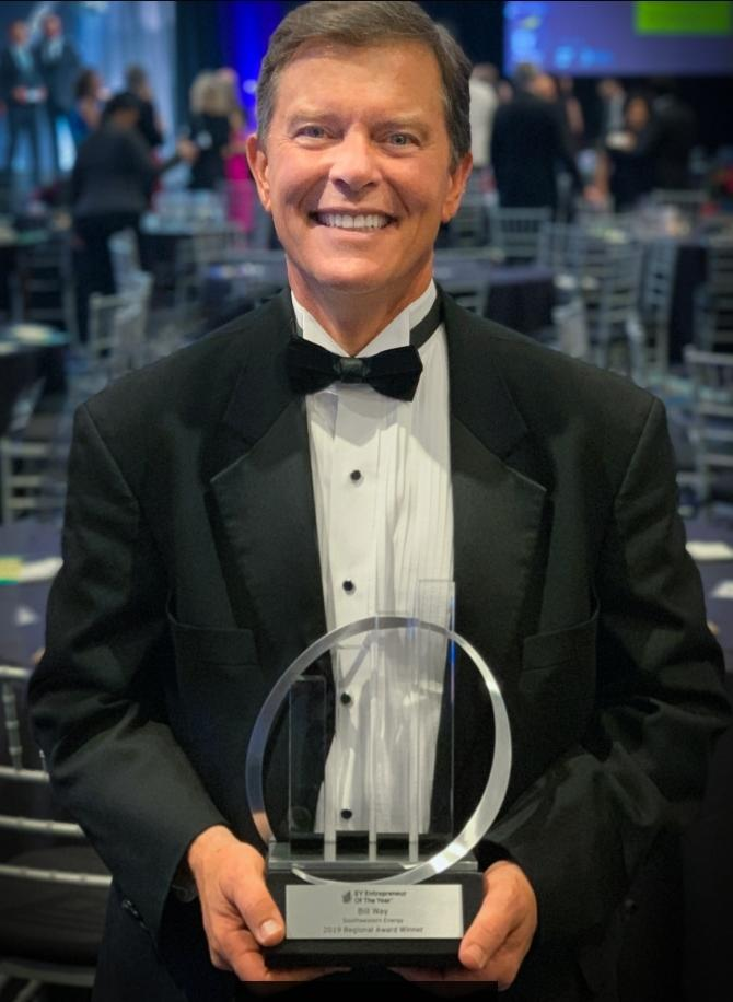 Bill Way, President & Chief Executive Officer, Southwestern Energy Named Entrepreneur Of The Year® 2019 Award Winner