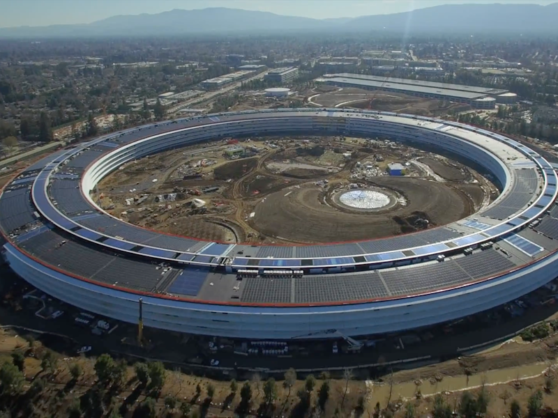 Apple's spaceship campus has an official name