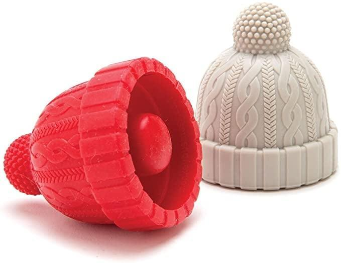 <p>Cold weather calls for these amazing <span>Beanie Cap Decorative Silicone Bottle Stoppers</span> ($15).</p>