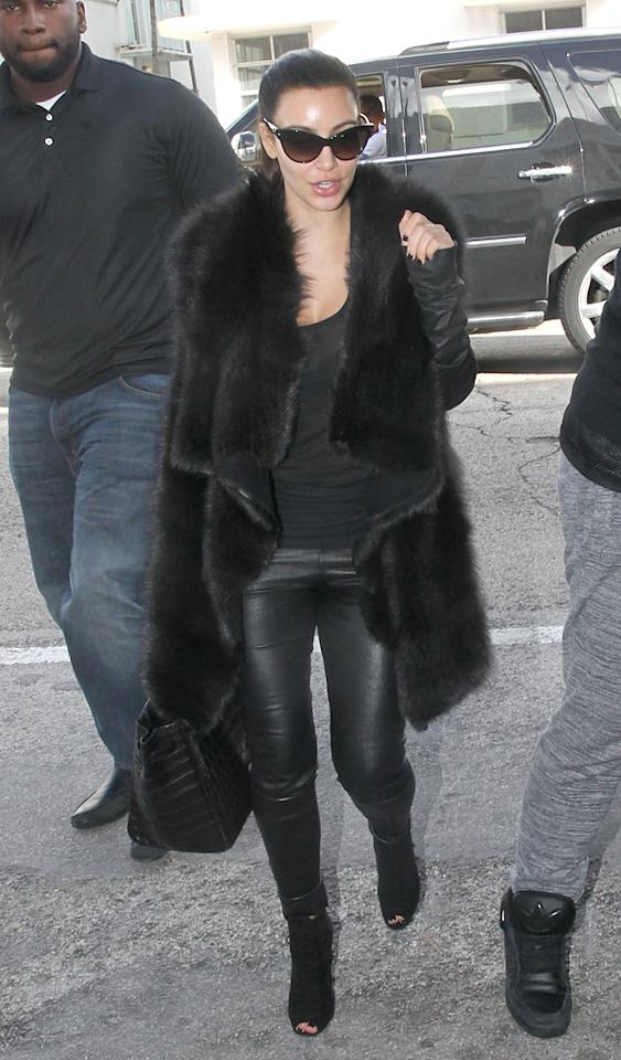 Kim Kardashian arrives in Miami from Germany and goes straight from the airport to shopping at The Webster in Miami Beach. Pictured: Kim Kardashian  Ref: SPL453642  121112  Picture by: Pixel Photo Inc / Splash News   Splash News and Pictures Los Angeles:310-821-2666 New York:212-619-2666 London:870-934-2666 photodesk@splashnews.com