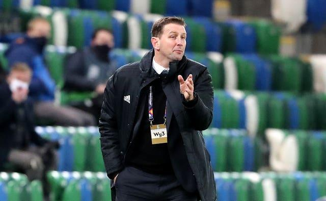 Northern Ireland manager Ian Baraclough is still awaiting his first victory