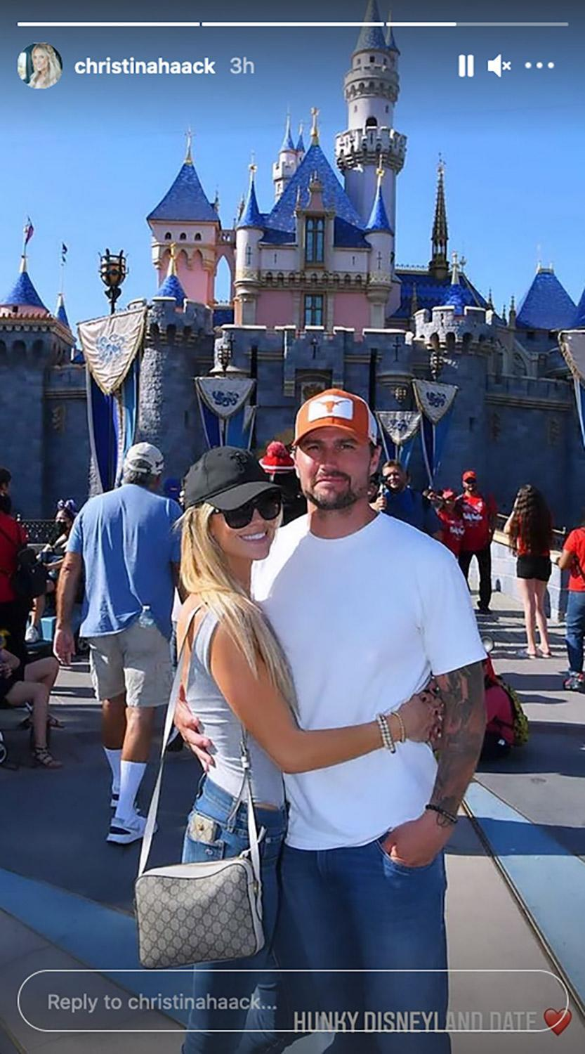 <p>The HGTV star and her date enjoyed each others' company at the Happiest Place on Earth in late July.</p>