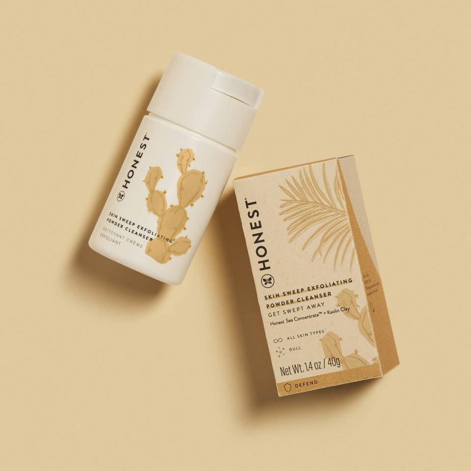The .99 powder cleanser, a gentle formula that's free of water, is made with kaolin clay. - Credit: Courtesy