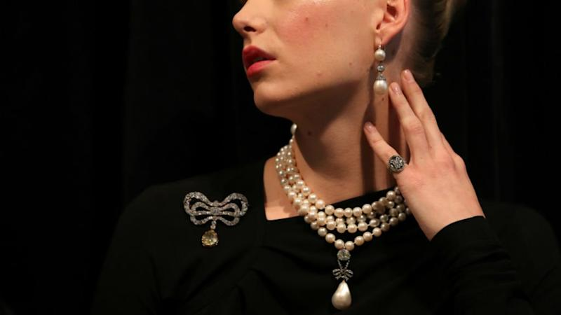 Marie Antoinette's jewels on display ahead of Sotheby's auction