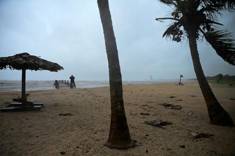 Hurricane Ida passed through western Cuba on Friday, forcing thousands to evacuate their homes (AFP/Yamil LAGE)
