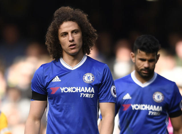 "<p>Britain Soccer Football – Chelsea v Crystal Palace – Premier League – Stamford Bridge – 1/4/17 Chelsea's David Luiz looks dejected Action Images via Reuters / Tony O'Brien Livepic EDITORIAL USE ONLY. No use with unauthorized audio, video, data, fixture lists, club/league logos or ""live"" services. Online in-match use limited to 45 images, no video emulation. No use in betting, games or single club/league/player publications. Please contact your account representative for further details. </p>"