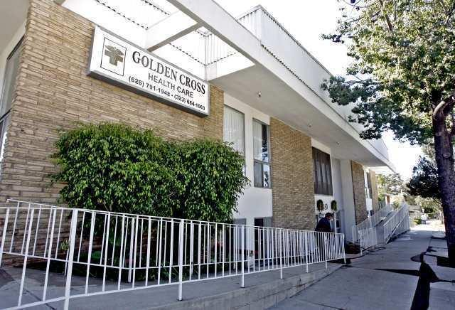 "Golden Cross Health Care is at 1450 N. Fair Oaks Ave. in Pasadena. <span class=""copyright"">(Raul Roa / TCN)</span>"