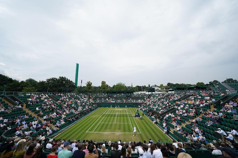 Wimbledon 2021 – Day Six – The All England Lawn Tennis and Croquet Club (PA Wire)