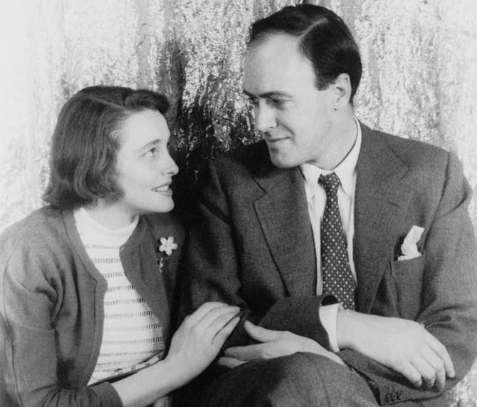 Patricia Neal y Roald Dahl (Dominio Publico, Carl Van Vechten - Van Vechten Collection at Library of Congress)