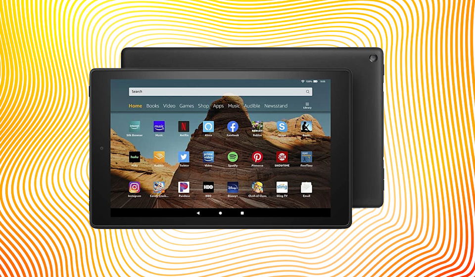The Amazon Fire HD 10 tablet for only $80? Down from $150? Yup. (Photo: Amazon)