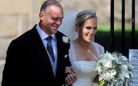 Zara Phillips and Mike Tindall  - Credit: Martin Rickett /PA