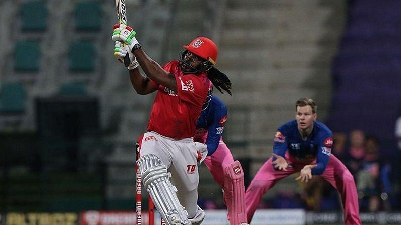 Chris Gayle's 99 went in vain as RR beat KXIP comfortably on Friday. (Image credits: kxip.in)