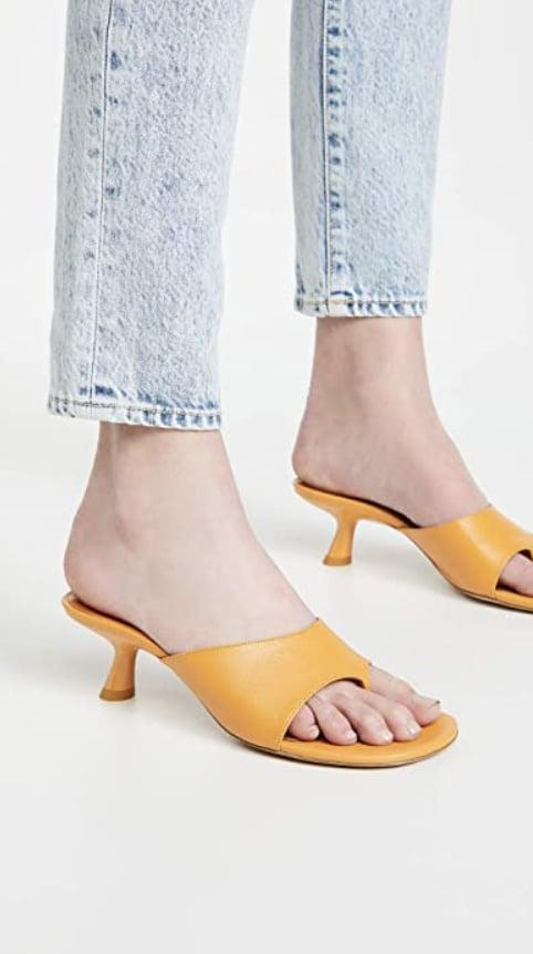 <p>All eyes will be on your feet when you wear these splurge-worthy <span>Simon Miller Bil Thong Sandals</span> ($390).</p>