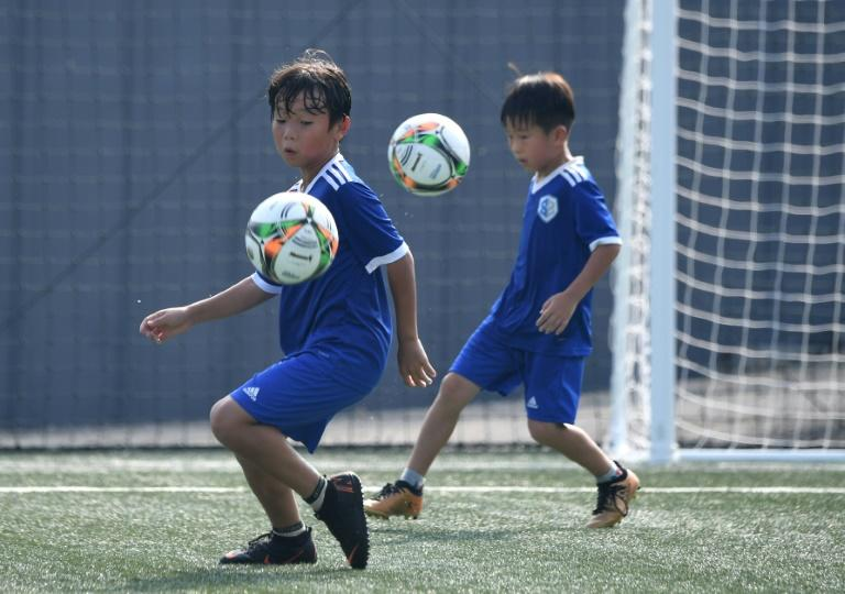 The SON Football Academy in Chuncheon is run by the father of Premier League footballer Son Heung-min, and focuses on the fundamentals