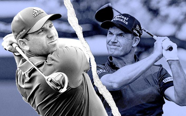 The fight within the fight: Ryder Cup team-mates Padraig Harrington and Sergio Garcia's feud