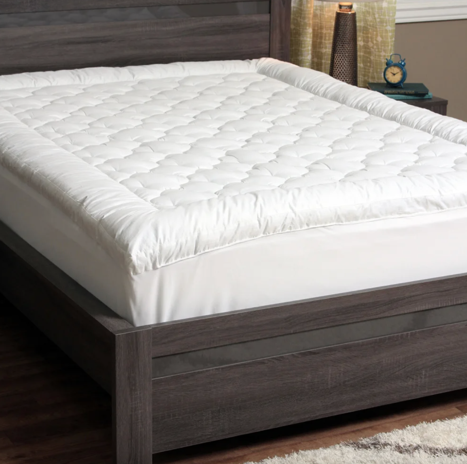 Cozy Classics Billowy Clouds Mattress Pad (Photo via Overstock)
